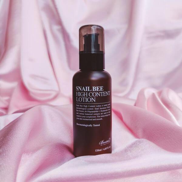 Benton snail bee high content arckrém minji cosmetics koreai kozmetikum webshop