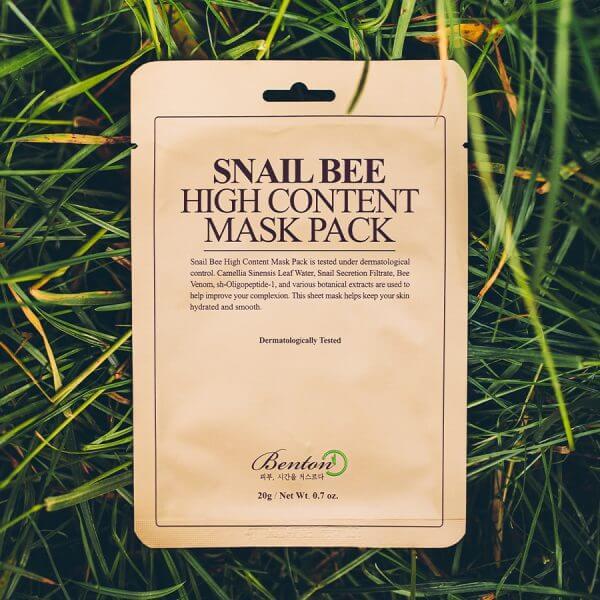 Benton Snail Bee High Content fátyolmaszk