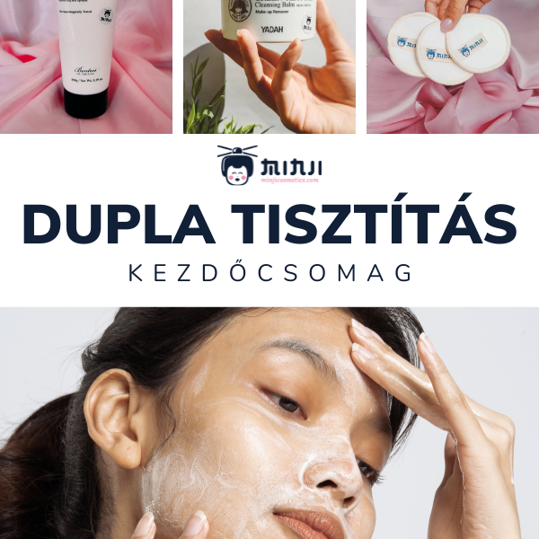 dupla tisztítás kezdőcsomag minji cosmetics