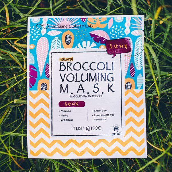 huangjisoo Broccoli bőrfeszesítő fátyolmaszk