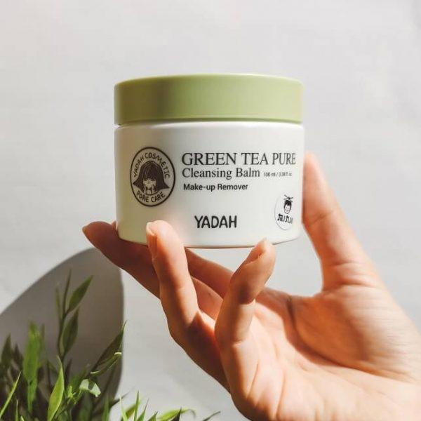 yadah Green Tea Pure arctisztító balzsam minjicosmetics.com koreai kozmetikum